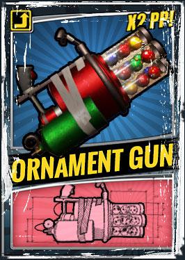 Ornament Gun Back