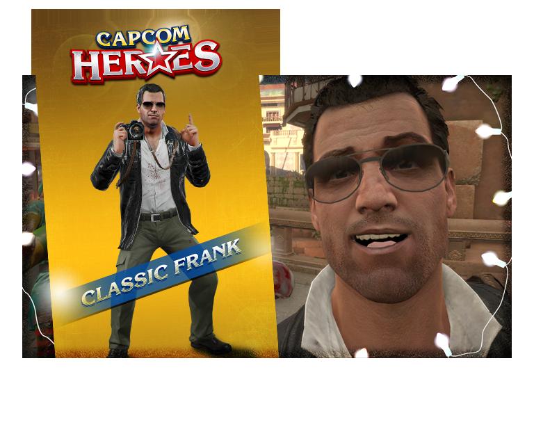 CAPCOM HEROES: CLASSIC FRANK