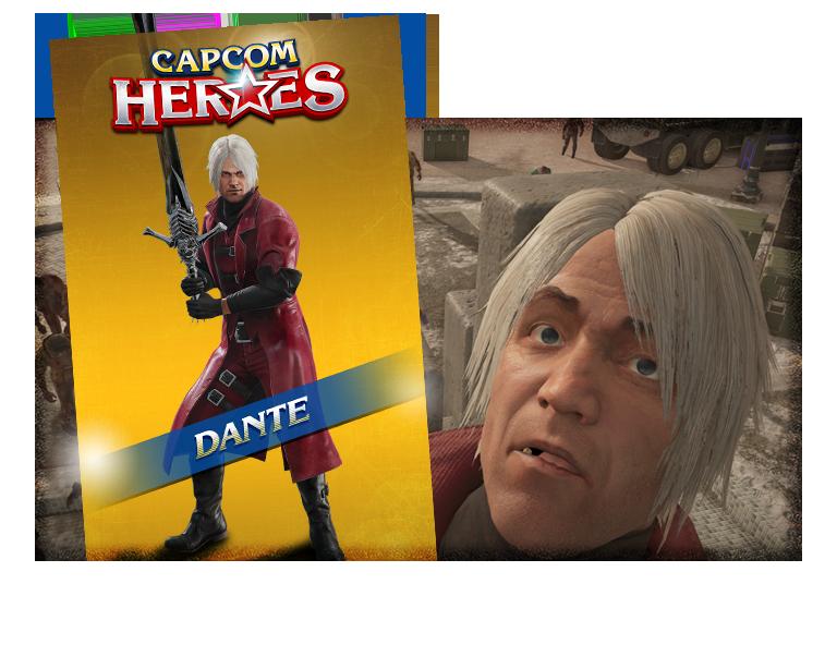 CAPCOM HEROES: DANTE