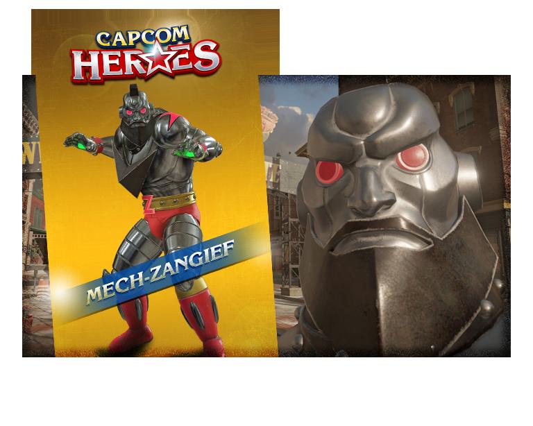 CAPCOM HEROES: MECH-ZANGIEF