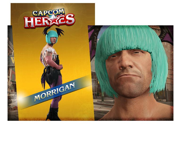CAPCOM HEROES: MORRIGAN