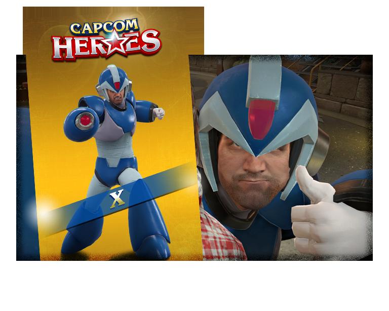 CAPCOM HEROES: X